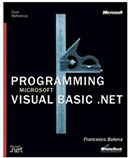 Programming Microsoft Visual Basic .NET